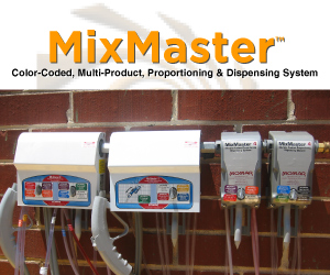 MixMaster - Color-Coded, Multi-Product, Proportioning & Dispensing System