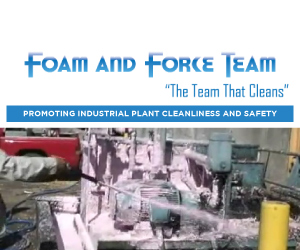 Foam and Force - The Team That Cleans