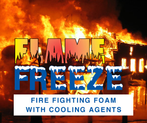 Flame Freeze :: Fire Fighting Foam with Cooling Agents