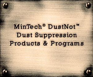 MinTech DustNot Dust Suppression Products and Programs