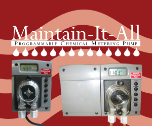 Maintain-It-All - Programmable Chemical Metering Pump
