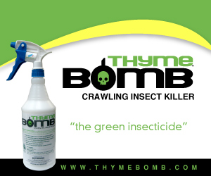 Thyme Bomb Crawling Insect Killer - The Green Insecticide