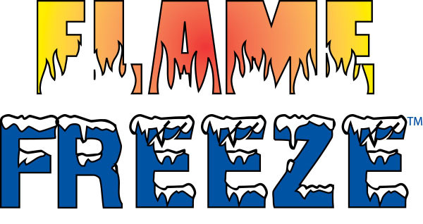 flame freeze logo